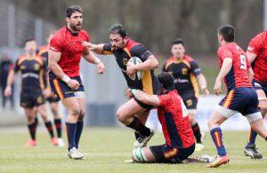 Rugby Action Deutschland Spanien