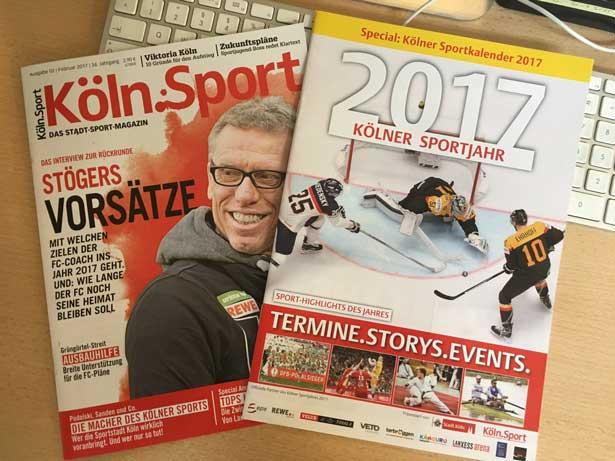 Köln.Sport-Ausgabe Februar mit Special
