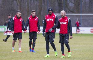 FC Profis beim Training