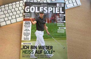 Die erste Golfspiel-Ausgabe 2017 liegt bereits am Kiosk