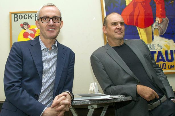 Alexander Wehrle und Jörg Schmadtke bleiben dem FC bis 2023 erhalten.