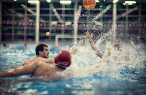 Wasserball-Action