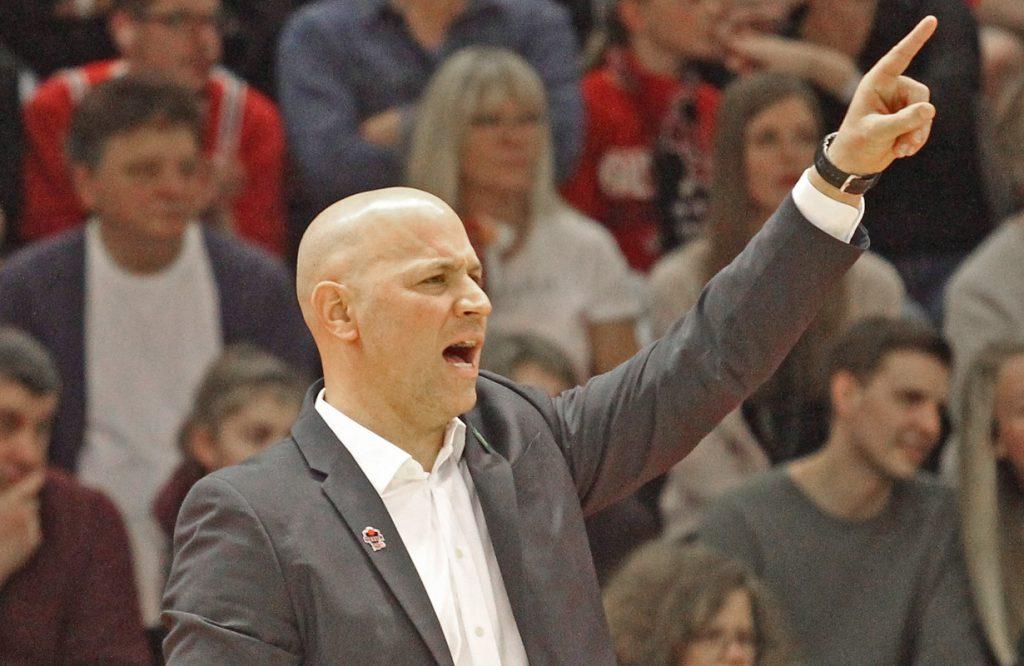Denis Wucherer ist der neue Cheftrainer der RheinStars. Mit den Kölnern will er in die Basketball-Bundesliga aufsteigen.