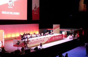 Mitgliederversammlung 1. FC Köln 2017