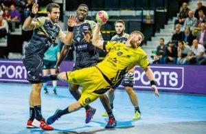 Handball-Action