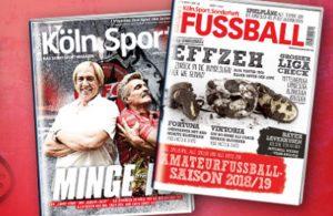 Köln.Sport-Fußball-Sonderheft