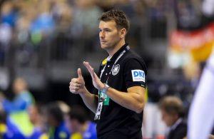 Trainer Christian Prokop Deutschland vs Brasilien