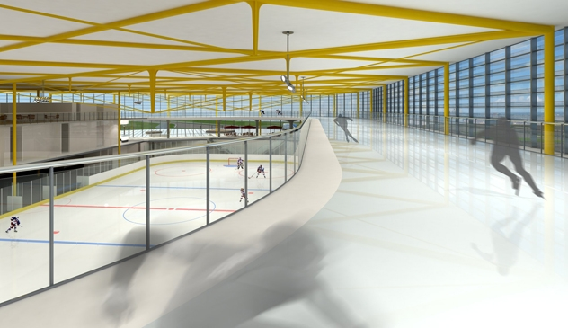 Lentpark Schlittschuh