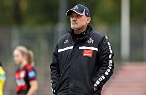 Willi Breuer, ehemaliger Coach der Frauenmannschaft des 1. FC Köln