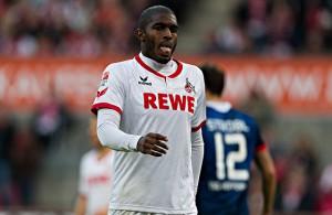 Angreifer Anthony Modeste vom 1. FC Köln