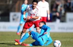 Hamdi Dahmani und Fortuna Köln wollen gegen die Kickers ein gelungenes Jahr 2015 positiv abschließen