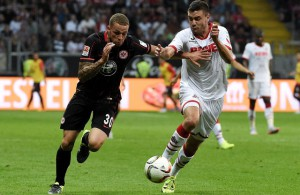 Jonas Hector 1. FC Köln Luc Castaignos Eintracht Frankfurt