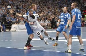 Große Gegenwehr vor großer Kulisse: Der Bergische HC verliert vor über 13.000 Zuschauern in der Kölner Arena nur knapp gegen das Top-Team aus Kiel