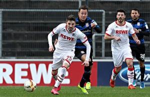 Filip Mladenovic 1. FC Köln Mario Engels FSV Frankfurt