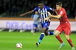 Dominique Heintz 1. FC Köln Salomon Kalou Hertha BSC