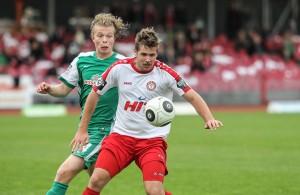 Fortuna-Torjäger Marco Königs erzielte in Magdeburg keinen Treffer.