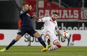 Vedad Ibisevic Dominic Maroh 1. FC Köln Hertha BSC