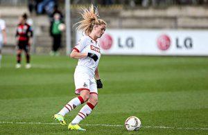 Rachel Rinast, aktuell 1. FC Köln und bald Bayer Leverkusen