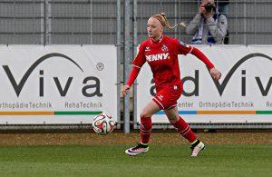 Anna Gerhardt, hier noch 1. FC Köln, bald Bayern München