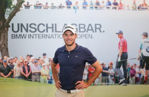 Der Golfer Max Kieffer