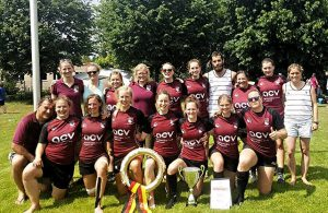 Rugby-Frauen des ASV Köln