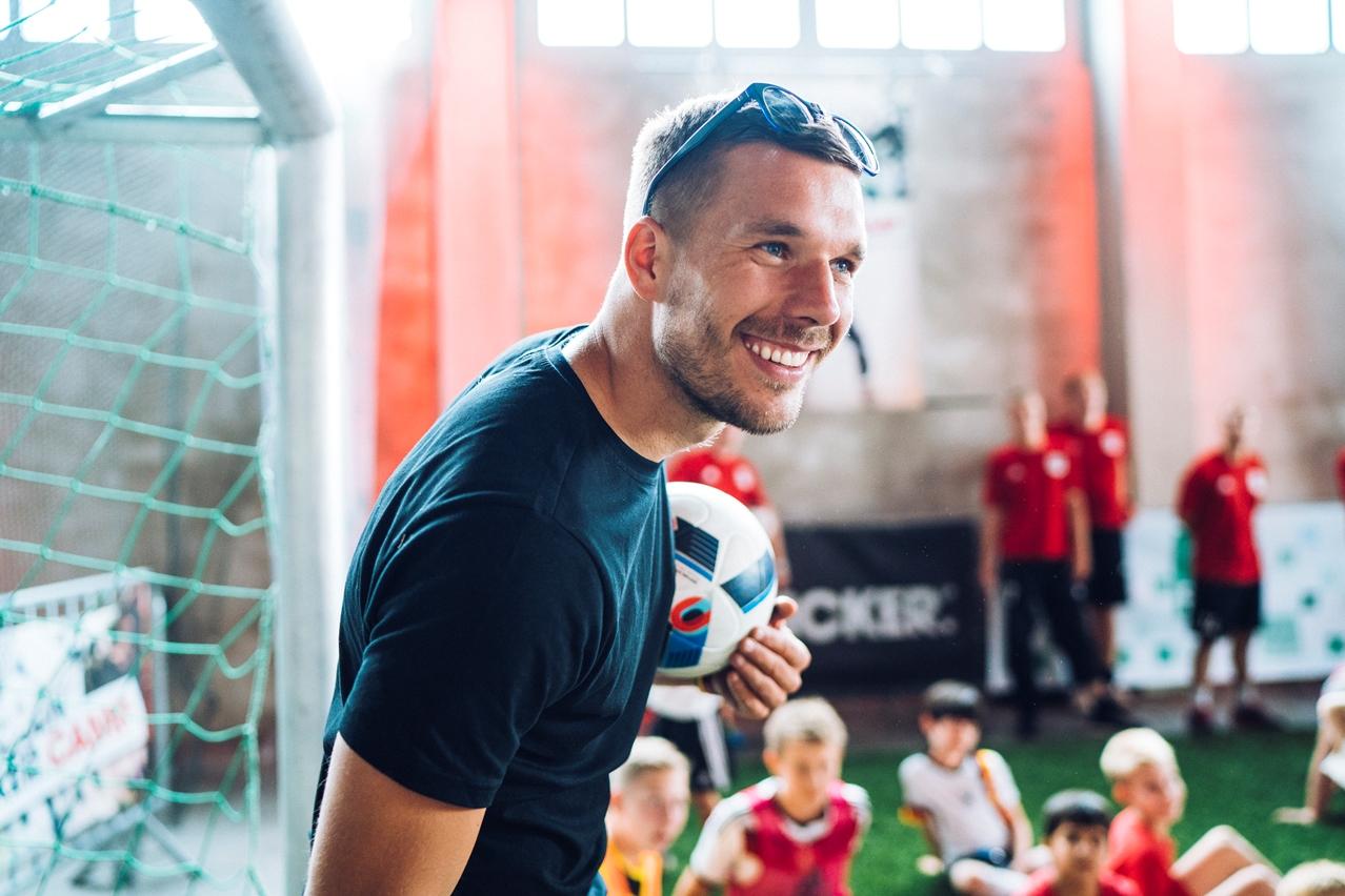 """Lukas Podolski: """"Ich bin immer mit Herz dabei"""" - Köln"""