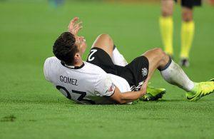 Mario Gomez, verletzt