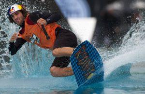 Wakeboarden im Kölner Stadionbad