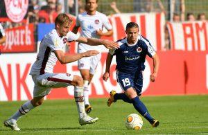 Kevin Holzweiler vom FC Viktoria Köln