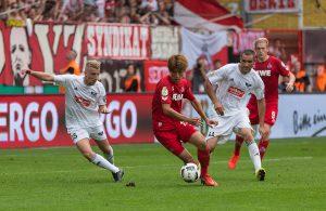 Yuya Osako schießt zwei Tore für den 1. FC Köln
