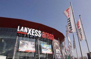 Lanxess Arena Außenaufnahme