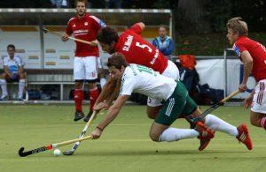 Stefan Menke kämpft mit dem KTHC um die ersten Platz in der Bundesliga.