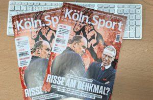 Die November-Ausgabe von Köln.Sport