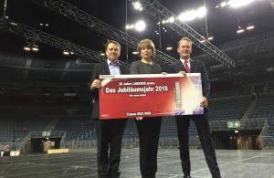Rekordjahr Lanxess-Arena
