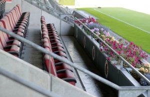 Abgesehen von 300 Plätzen bleibt der Sportpark Höhenberg vorerst leer